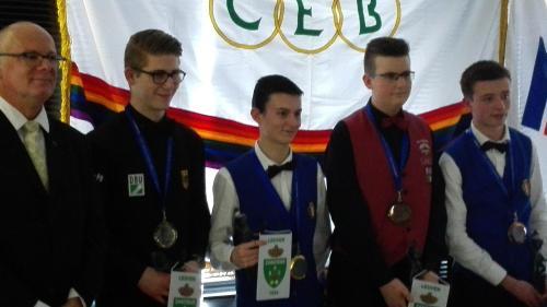Mistrovství Evropy kadetů trojband